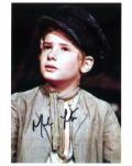 "MARK LESTER from ""Oliver"" Signed 10 x 8 Photograph"